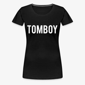 Tomboy White - Women's Premium T-Shirt