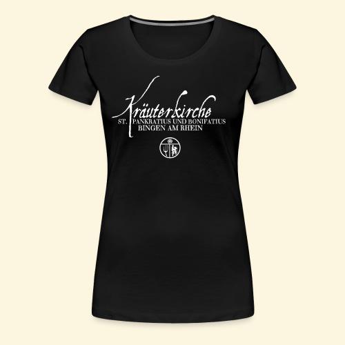 Kräuterkirche - Frauen Premium T-Shirt