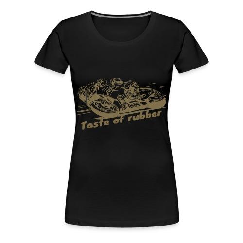 Geschmack von Gummi 2 gold - Frauen Premium T-Shirt