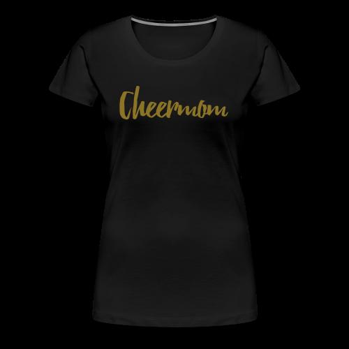 Cheermom Handlettering - Frauen Premium T-Shirt
