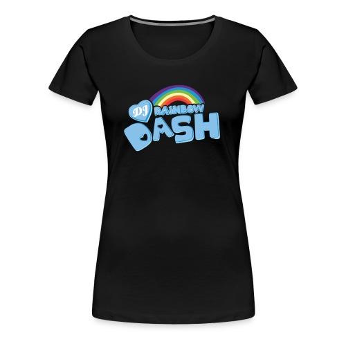 Rainbow Dash Logo neu - Frauen Premium T-Shirt