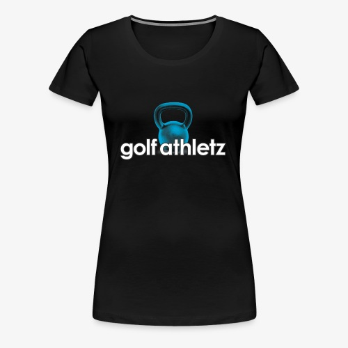 GOLF ATHLETZ - Kettlebell Trainings Sport Motiv - Frauen Premium T-Shirt