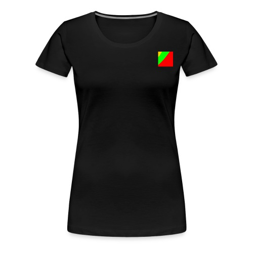 Lithuania Square - Women's Premium T-Shirt
