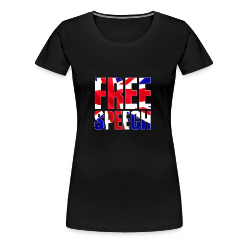 Free Speech UK Alt.1 - Women's Premium T-Shirt