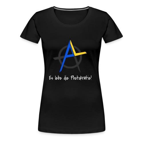 Es lebe die Photokratie! Solarzellen & Revolution! - Frauen Premium T-Shirt