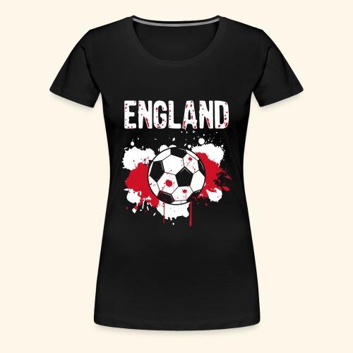 England Meister Fußball Fussball Shirt Geschenk - Frauen Premium T-Shirt