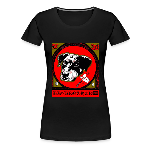 DOG - Frauen Premium T-Shirt
