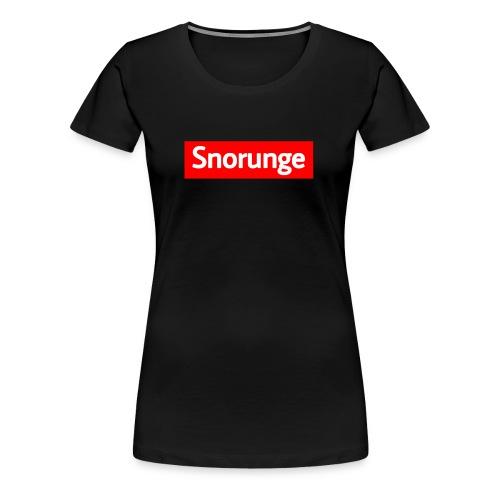 Snorunge 2018 - Premium-T-shirt dam