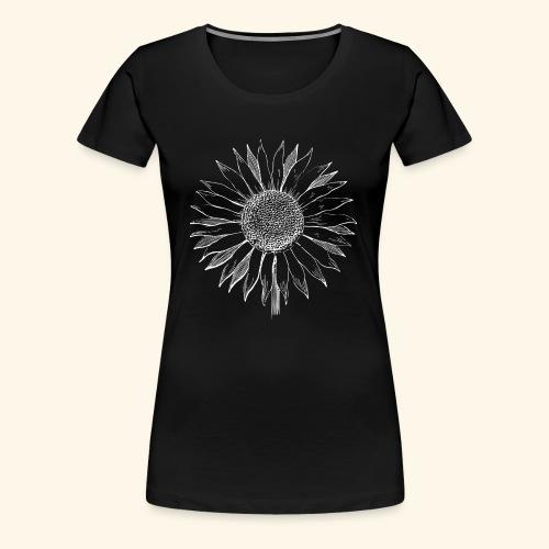 Sommer Sonnenblume. Prima Geschenksidee! - Frauen Premium T-Shirt