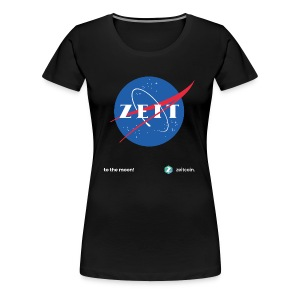 One small step for Zeit - Women's Premium T-Shirt