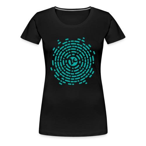 VTRAINERCENTER - Camiseta premium mujer