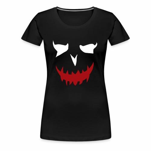 puddin face white - Frauen Premium T-Shirt