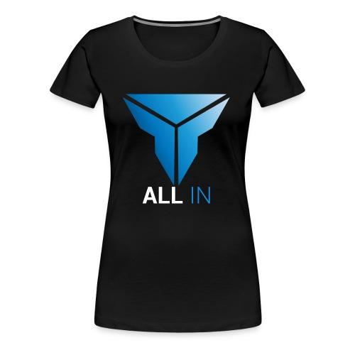 Straight - Frauen Premium T-Shirt
