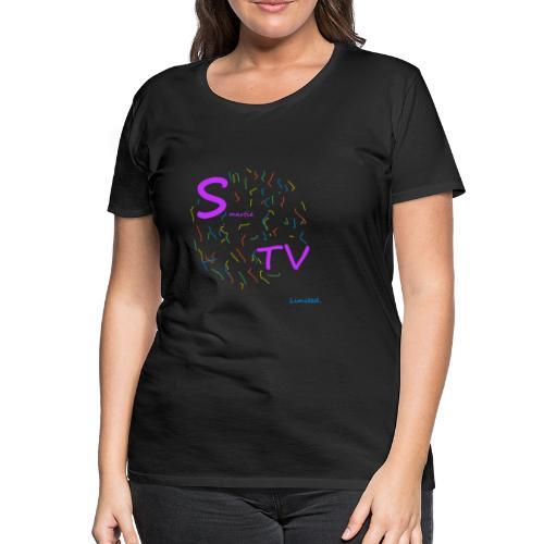 Limited SmartieTV - Frauen Premium T-Shirt