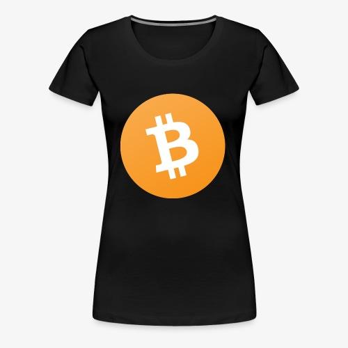 Original Bitcoin Cash Symbol - Women's Premium T-Shirt