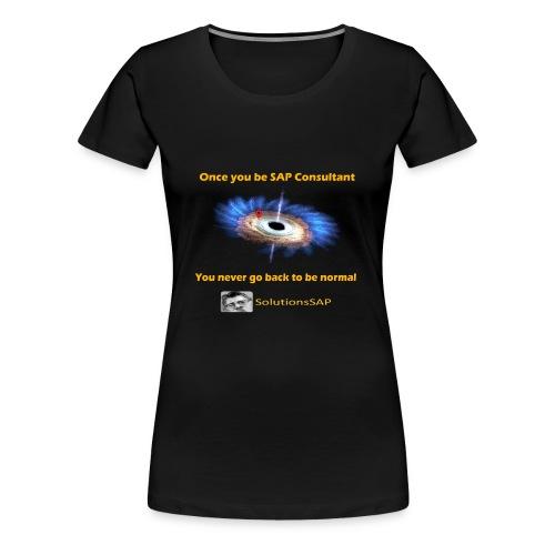Black Hole - Camiseta premium mujer
