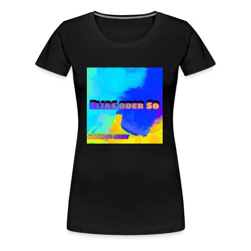 2A6CD045 CD12 4286 813E 1EB90DB0ABB9 - Frauen Premium T-Shirt