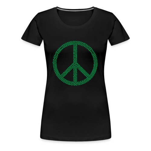 MaryJane Peace - Frauen Premium T-Shirt
