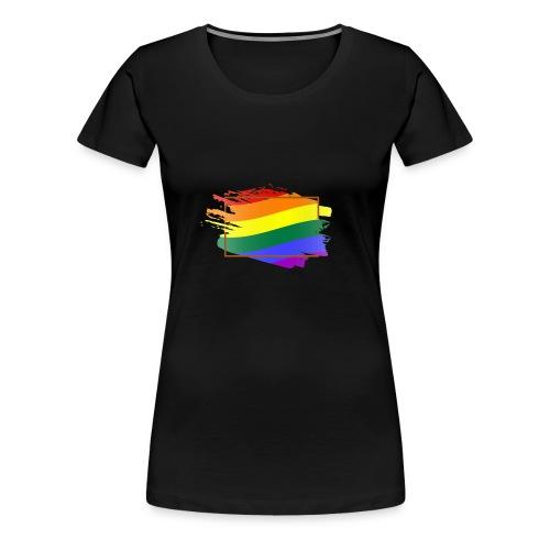 Think Outside the Box - LGBT Pride - Women's Premium T-Shirt
