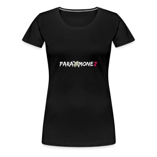 Para Monez (Weiß) - Frauen Premium T-Shirt