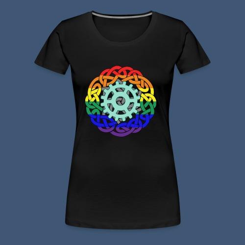 Berlingtons Geisterjäger Logo Amalia Zeichnerin - Frauen Premium T-Shirt
