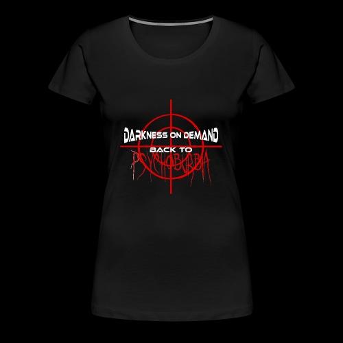 DoD Back to Psychoburbia - Frauen Premium T-Shirt
