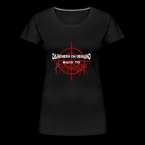 DoD Back to Psychoburbia - Frauen Premium T-Shirt
