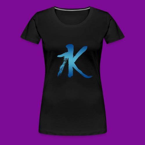 Je suis comme l'Eau! - T-shirt Premium Femme