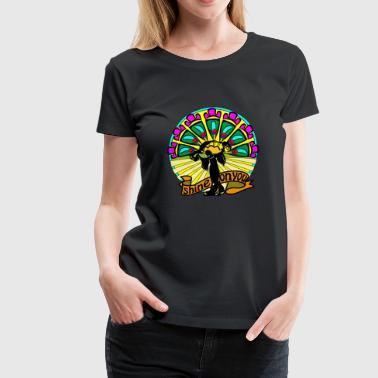 Shine på dig - Premium-T-shirt dam