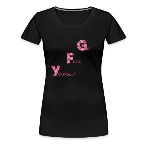 Rose Butt - Frauen Premium T-Shirt