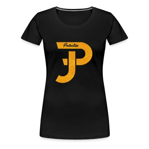 Merch gold - Frauen Premium T-Shirt