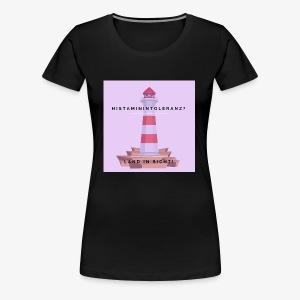 Histaminintoleranz – Land in Sicht (lila) - Frauen Premium T-Shirt