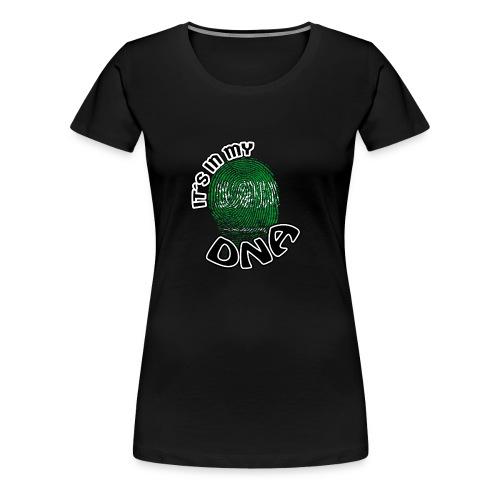 Geschenk Its in my dna dns roots Saudi Arabien - Frauen Premium T-Shirt