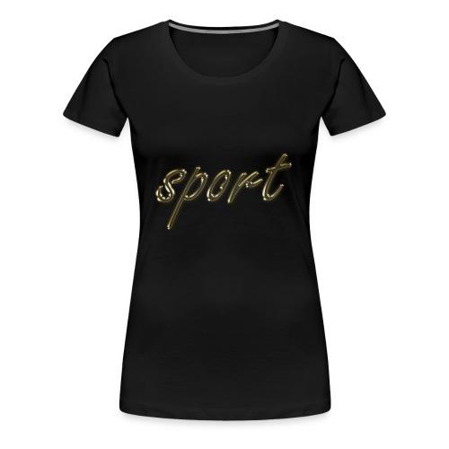 deporte - Camiseta premium mujer