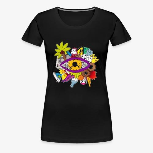 Uhrwerk - Frauen Premium T-Shirt