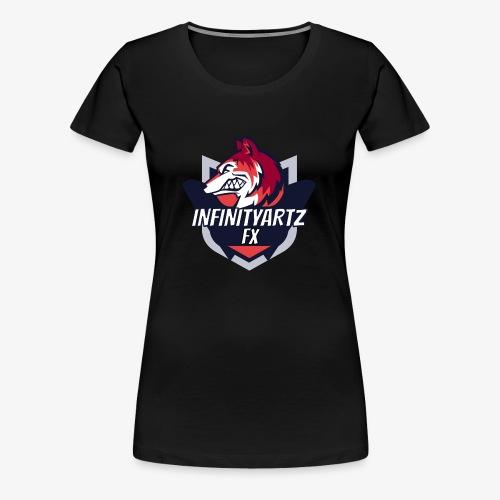 InfinityArtz FX YouTube Logo - Frauen Premium T-Shirt