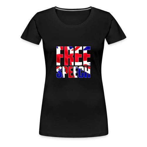 Free Speech UK Alt.1 - Women's Premium T-Shirt