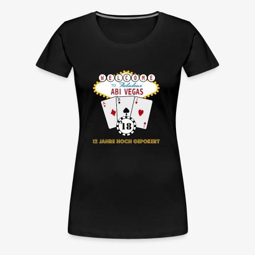 Abipullover Abi Vegas - Frauen Premium T-Shirt