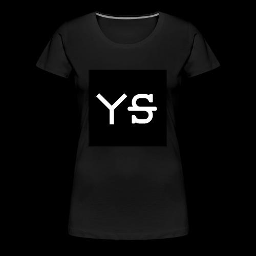 YeetSkeet Letter Logo - Women's Premium T-Shirt