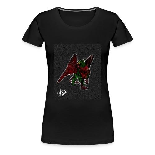 Grifone verde-rosso - Maglietta Premium da donna