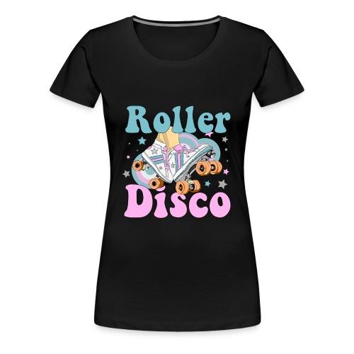 roller disco rose - T-shirt Premium Femme
