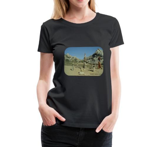 Valle della Luna - Maglietta Premium da donna