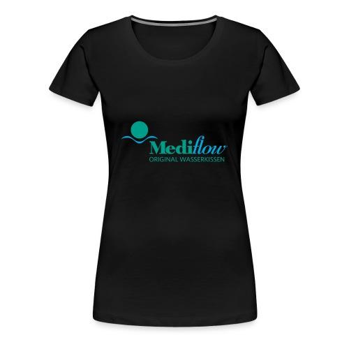 Mediflow Logo - Wasserkissen - Frauen Premium T-Shirt