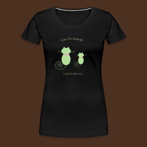 Animal care - Women's Premium T-Shirt