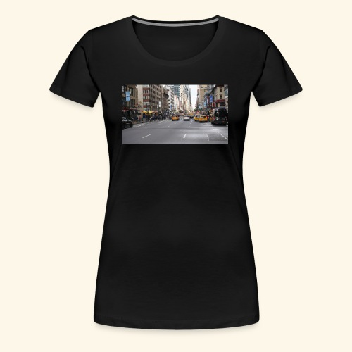 New York Traffic - Frauen Premium T-Shirt