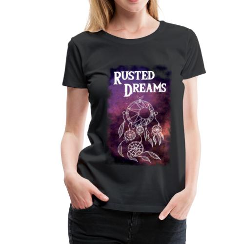 RUSTED DREAMS DreamCatcher logo - Maglietta Premium da donna