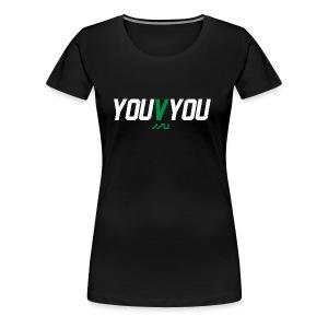 youVyou motivational fitness T-Shirt - Women's Premium T-Shirt