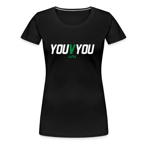 youVyou motivational fitness T-Shirt - Women's Premium T-Shirt