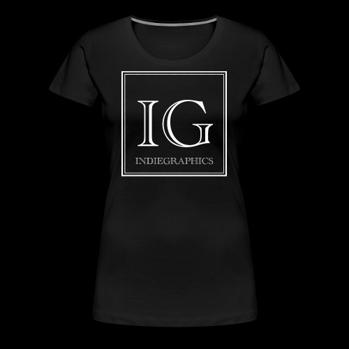 Indie Graphics Logo - Frauen Premium T-Shirt