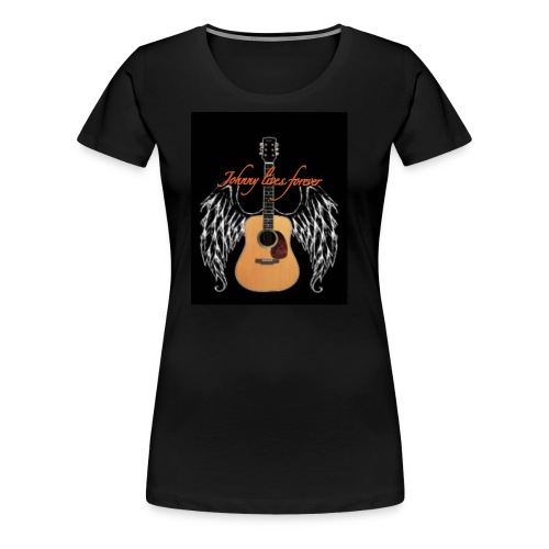 Johnny is eternal - T-shirt Premium Femme